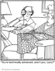 Comic Strip Jerry Van Amerongen  Ballard Street 2009-02-27 husband and wife