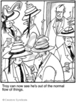 Comic Strip Jerry Van Amerongen  Ballard Street 2010-02-19 hat
