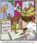 Comic Strip Jerry Van Amerongen  Ballard Street 2013-02-26 horse