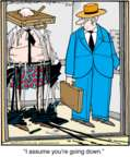 Comic Strip Jerry Van Amerongen  Ballard Street 2016-07-20 office