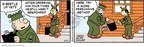 Comic Strip Brian Walker Greg Walker Mort Walker  Beetle Bailey 2009-02-27 cold