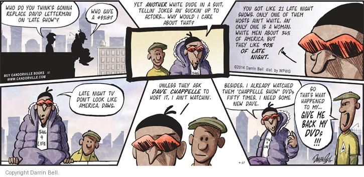 African Americans and Comic Strips - Rush Term Papers