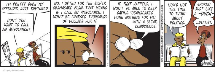 The Ambulance Comic Strips | The Comic Strips
