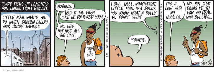 The Bully Comic Strips | The Comic Strips
