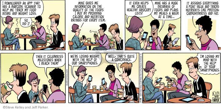 Food spoilage comic strips