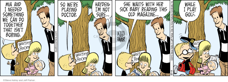 Dustin Comic strip