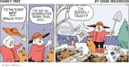 Comic Strip Signe Wilkinson  Family Tree 2009-04-05 gardening