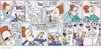 Comic Strip Signe Wilkinson  Family Tree 2009-12-06 hair loss
