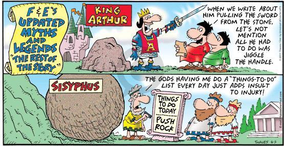 strip King arthurs
