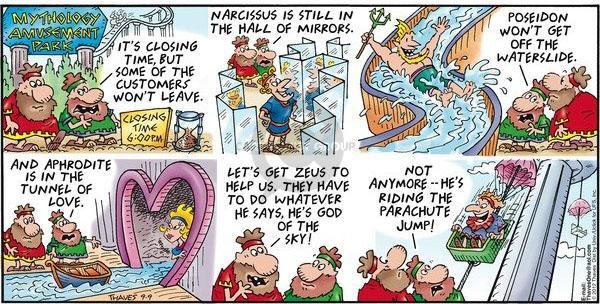 Not mythology comic strip