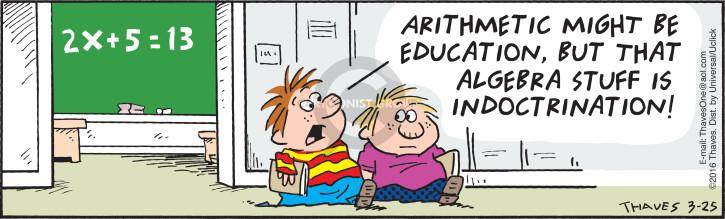 Algebra comic strip pic 628