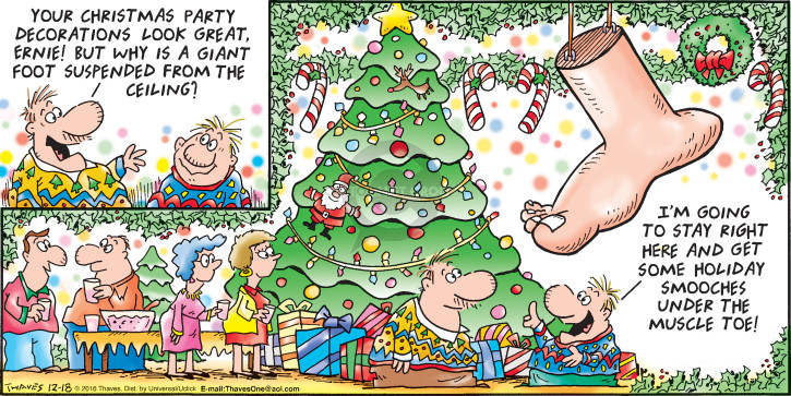 Christmas Party Images Cartoon.The Christmas Party Comic Strips The Comic Strips