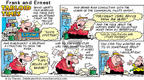 Comic Strip Bob Thaves Tom Thaves  Frank and Ernest 2002-01-06 circulatory system