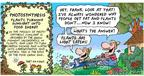 Comic Strip Bob Thaves Tom Thaves  Frank and Ernest 2004-03-14 oxygen