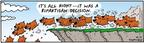 Comic Strip Bob Thaves Tom Thaves  Frank and Ernest 2004-04-07 partisanship