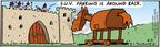 Comic Strip Bob Thaves Tom Thaves  Frank and Ernest 2004-06-21 Trojan horse
