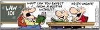 Comic Strip Bob Thaves Tom Thaves  Frank and Ernest 2004-07-24 law school
