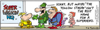 Comic Strip Bob Thaves Tom Thaves  Frank and Ernest 2004-09-06 disguise