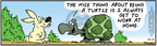 Comic Strip Bob Thaves Tom Thaves  Frank and Ernest 2004-10-05 turtle