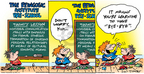 Comic Strip Bob Thaves Tom Thaves  Frank and Ernest 2005-02-20 education