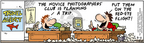 Comic Strip Bob Thaves Tom Thaves  Frank and Ernest 2005-03-05 vacation