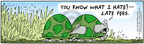 Comic Strip Bob Thaves Tom Thaves  Frank and Ernest 2005-04-21 turtle