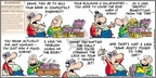 Comic Strip Bob Thaves Tom Thaves  Frank and Ernest 2009-05-03 bank loan