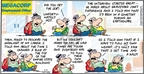 Comic Strip Bob Thaves Tom Thaves  Frank and Ernest 2009-05-10 tough