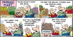 Comic Strip Bob Thaves Tom Thaves  Frank and Ernest 2009-08-30 grocery store