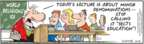 Comic Strip Bob Thaves Tom Thaves  Frank and Ernest 2009-10-21 classroom