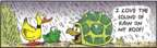 Comic Strip Bob Thaves Tom Thaves  Frank and Ernest 2009-11-13 turtle