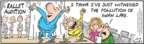 Comic Strip Bob Thaves Tom Thaves  Frank and Ernest 2009-12-19 swan