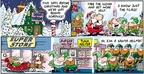 Comic Strip Bob Thaves Tom Thaves  Frank and Ernest 2009-12-20 grocery store