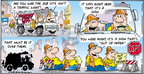 Comic Strip Bob Thaves Tom Thaves  Frank and Ernest 2010-04-04 traffic