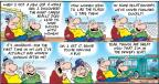 Comic Strip Bob Thaves Tom Thaves  Frank and Ernest 2011-07-24 first time