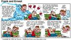 Comic Strip Bob Thaves Tom Thaves  Frank and Ernest 2000-03-05 valentine