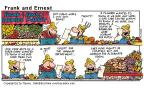 Comic Strip Bob Thaves Tom Thaves  Frank and Ernest 2000-07-16 gambler