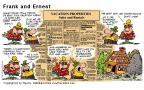 Comic Strip Bob Thaves Tom Thaves  Frank and Ernest 2000-07-30 pile