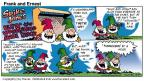 Comic Strip Bob Thaves Tom Thaves  Frank and Ernest 2000-08-20 wolf