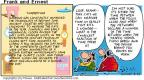 Comic Strip Bob Thaves Tom Thaves  Frank and Ernest 2001-05-27 century