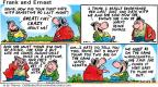 Comic Strip Bob Thaves Tom Thaves  Frank and Ernest 2001-10-28 glad