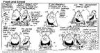 Comic Strip Bob Thaves Tom Thaves  Frank and Ernest 1996-11-10 yeah