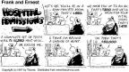 Comic Strip Bob Thaves Tom Thaves  Frank and Ernest 1997-04-13 heart transplant