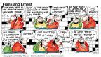 Comic Strip Bob Thaves Tom Thaves  Frank and Ernest 1998-05-17 yeah