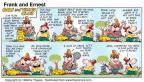 Comic Strip Bob Thaves Tom Thaves  Frank and Ernest 1998-07-12 glad