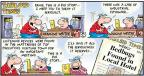 Comic Strip Bob Thaves Tom Thaves  Frank and Ernest 2011-10-23 spy