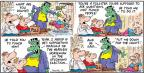 Comic Strip Bob Thaves Tom Thaves  Frank and Ernest 2012-01-08 Dracula