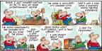 Comic Strip Bob Thaves Tom Thaves  Frank and Ernest 2012-01-22 3-D