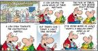 Comic Strip Bob Thaves Tom Thaves  Frank and Ernest 2012-04-01 pile