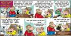 Comic Strip Bob Thaves Tom Thaves  Frank and Ernest 2012-10-28 first time